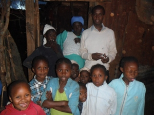 Kariuki's Family in Kiandutu